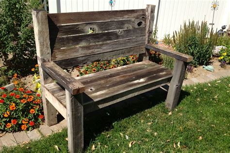 Diy Barn Wood Table And Benches