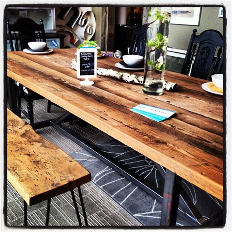 Diy Barnwood Dining Room Table