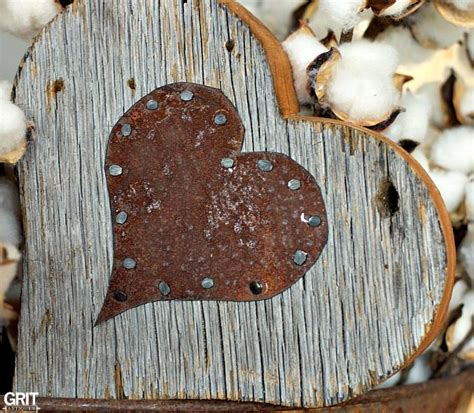 Diy Barnwood Hearts