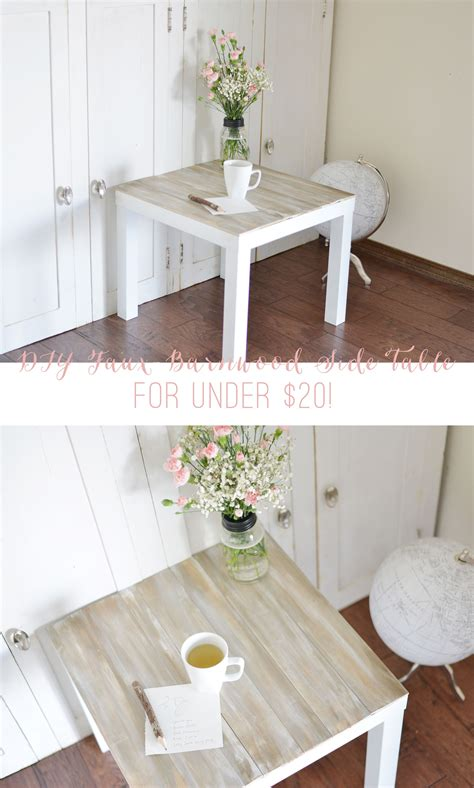 Diy Barnwood Table Ikea