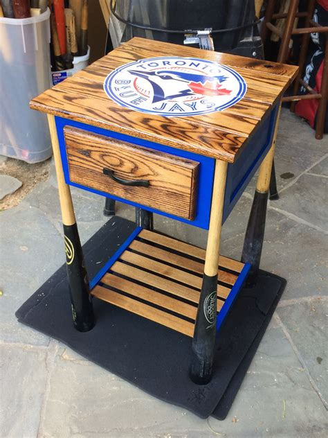 Diy Baseball Bat Tables