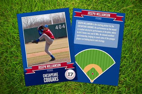 Diy Baseball Card Template
