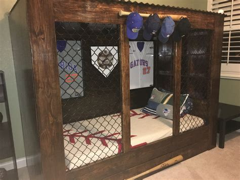 Diy Baseball Dugout Bed Diy