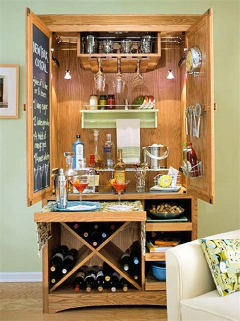 Diy Basement Bar Cabinets