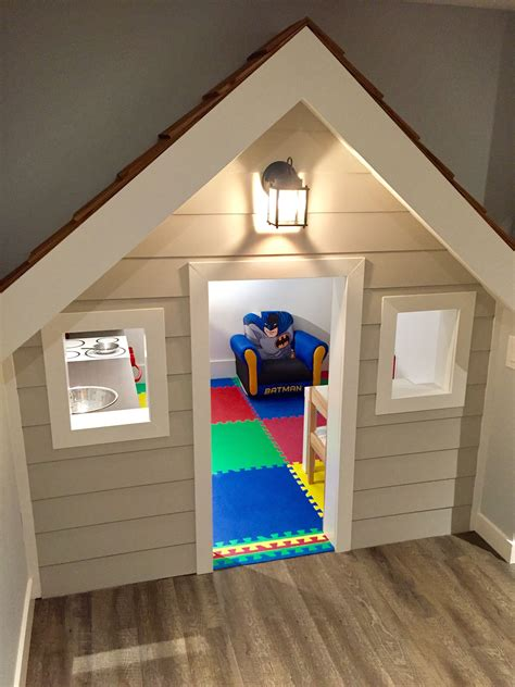 Diy Basement Playhouse