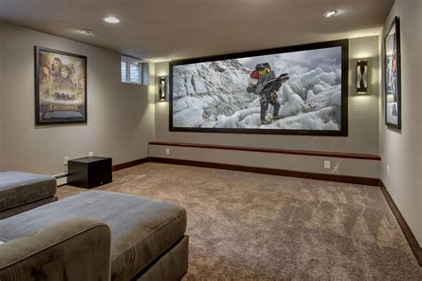 Diy Basement Projector Room
