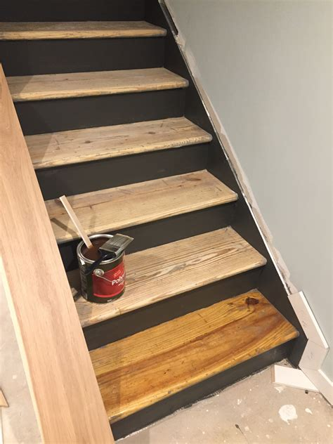 Diy Basement Stairs Remodel