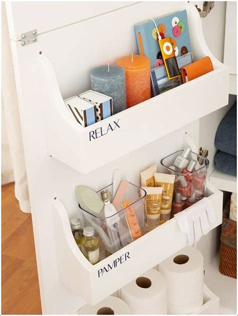 Diy Bathroom Counter Organizer Cloth