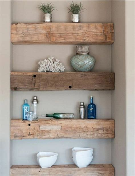 Diy Bathroom Shelves Pinterest