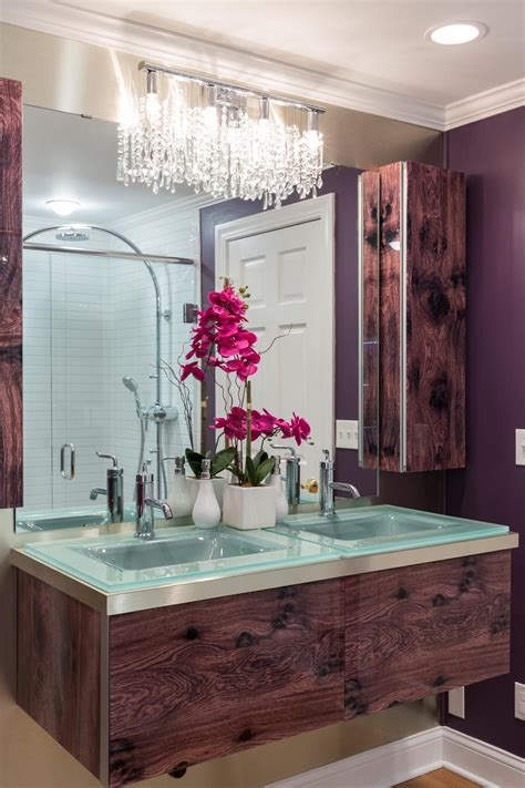 Diy Bathroom Sink Backsplash