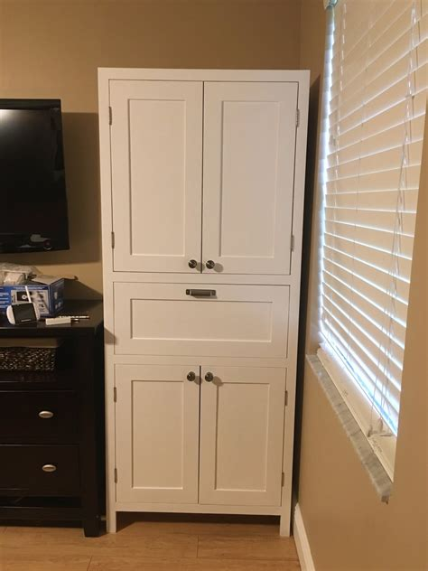 Diy Bathroom Storage Cabinet Plans
