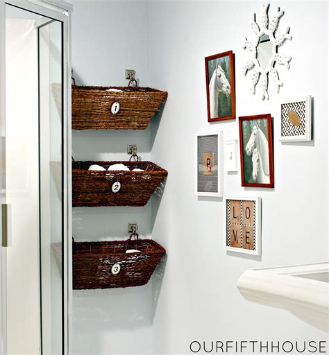 Diy Bathroom Storage On A Budget