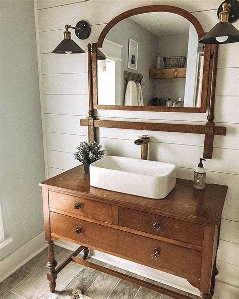 Diy Bathroom Vanity From Old Dresser