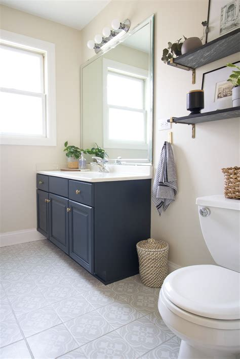 Diy Bathroom Vanity Paint