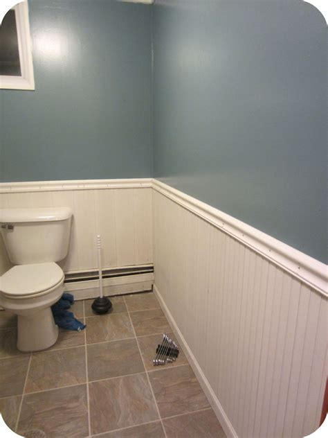 Diy Bathroom Wainscoting Pictures