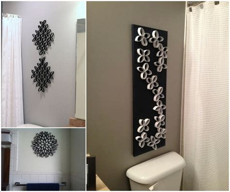 Diy Bathroom Wall Art Decor