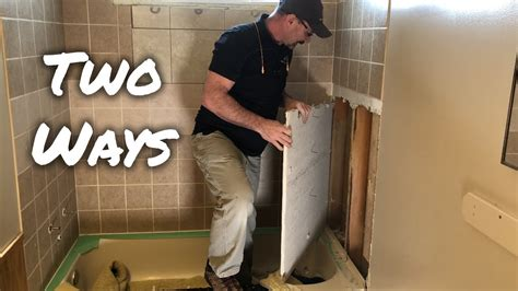 Diy Bathroom Wall Tile Removal