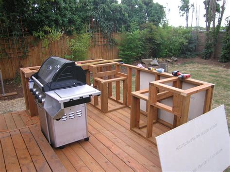 Diy Bbq Island Framing