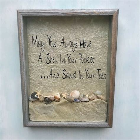 Diy Beach Shadow Box Decorating