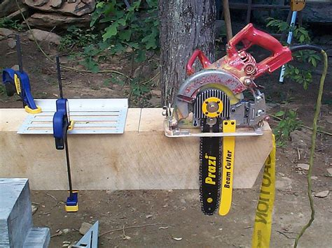 Diy Beam Saw