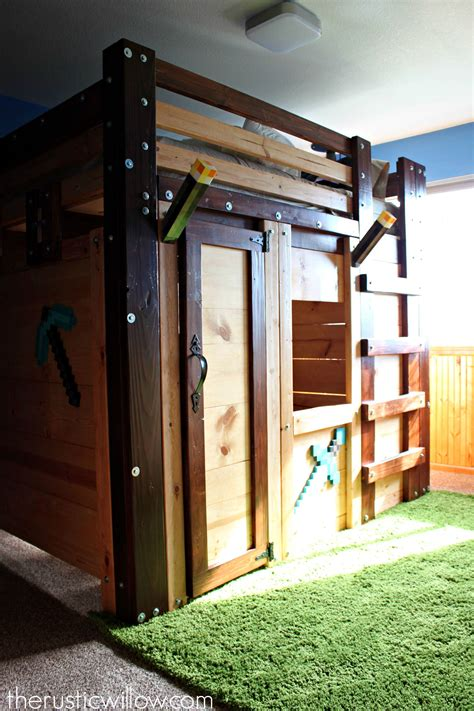 Diy Bed Base Designs Minecraft