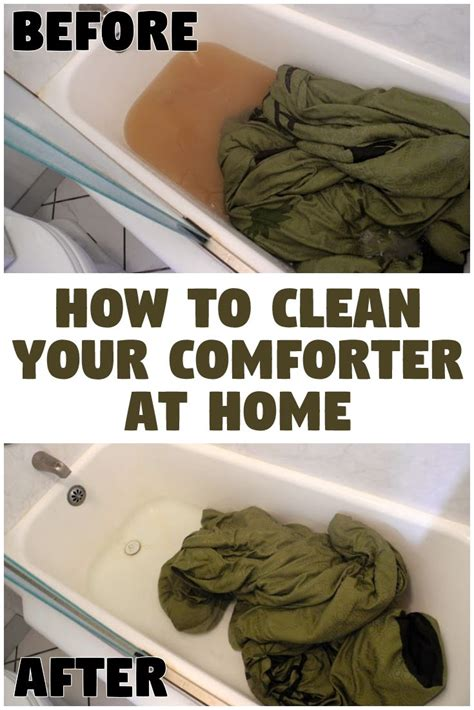 Diy Bed Comforter Dry Cleaning