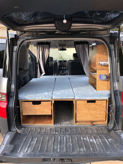 Diy Bed For Honda Element Camper Platform