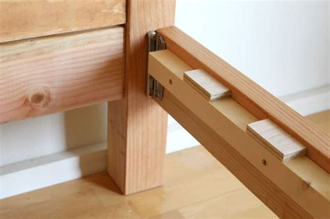 Diy Bed Frame Brackets
