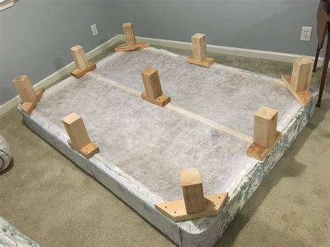 Diy Bed Frame Idea For Box Springs