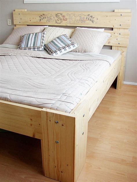 Diy Bed Frame Pinterest