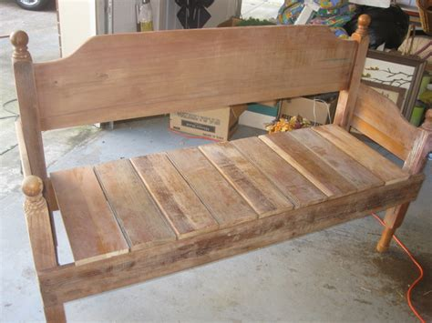 Diy Bed Headboard Bench Seat