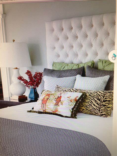 Diy Bed Headboard Fabric Design