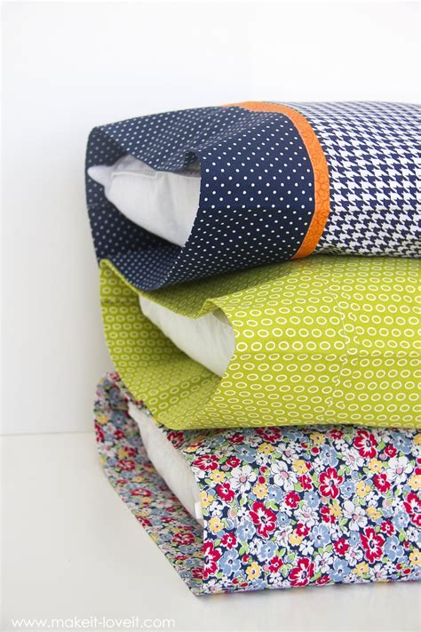 Diy Bed Pillow Cases 3 Sizes Boxes
