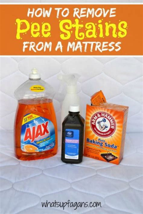 Diy Bed Stain Removal