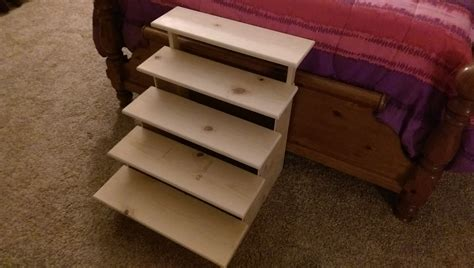 Diy Bed Steps For Dog