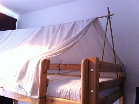 Diy Bed Tent Fort