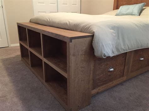 Diy Bed With Headboard And Footboard