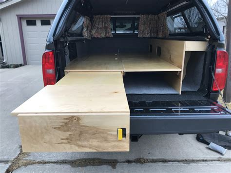 Diy Bed With Pull Out Draws