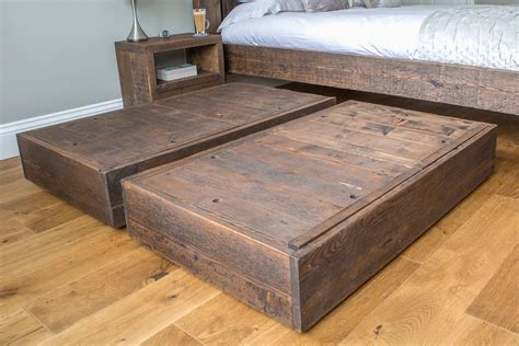 Diy Bed With Storage Underneath