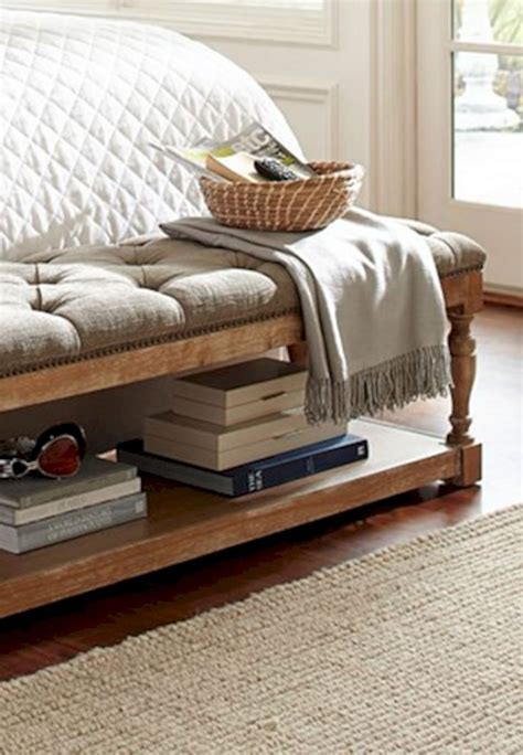 Diy Bedroom Bench With Storage
