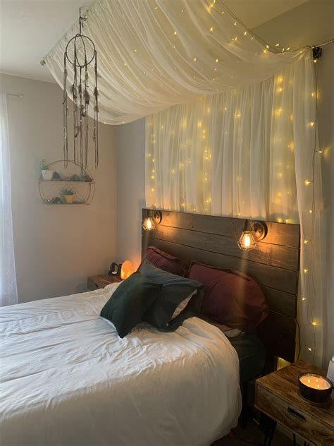 Diy Bedroom Canopy With Lights