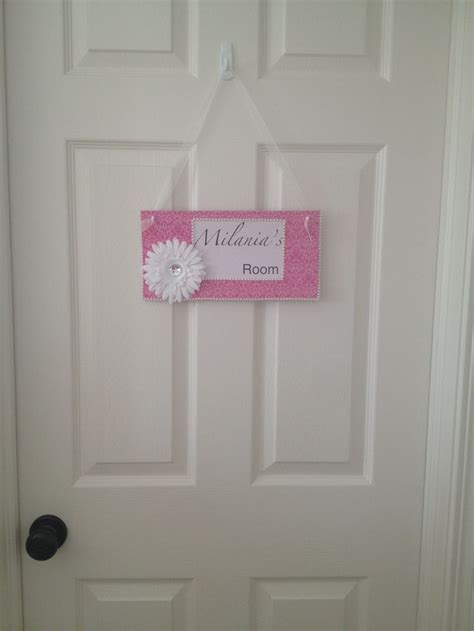 Diy Bedroom Door Signs