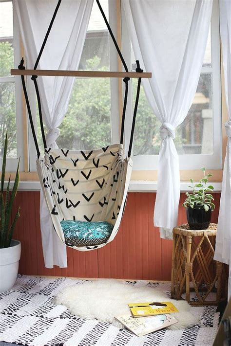 Diy Bedroom Swing Chair