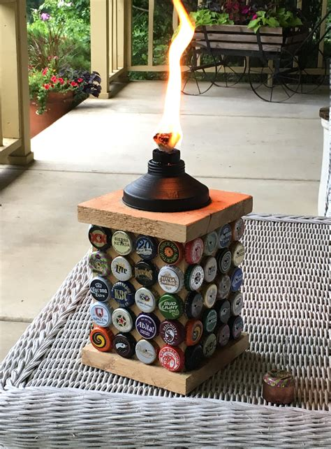 Diy Beer Cap Storage System