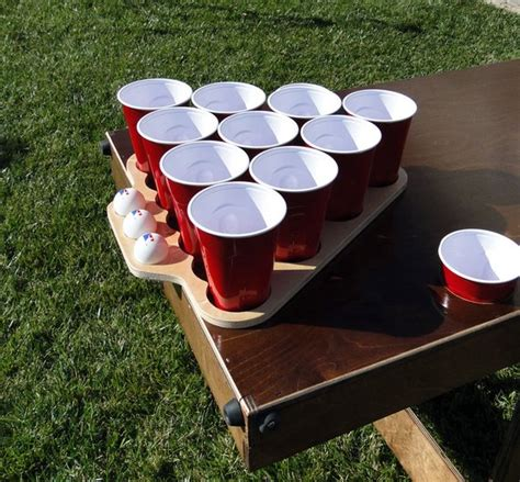 Diy Beer Pong Rack