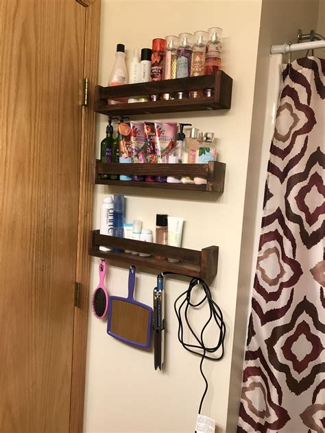 Diy Behind The Door Storage