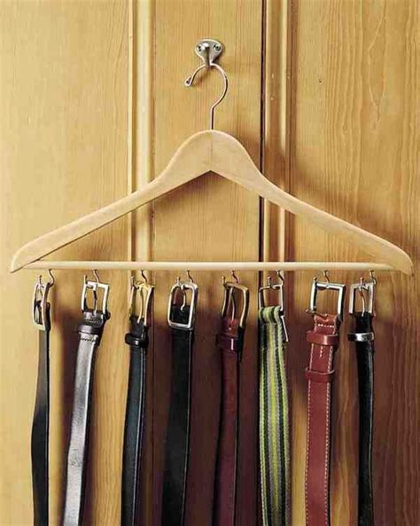 Diy Belt Storage Ideas