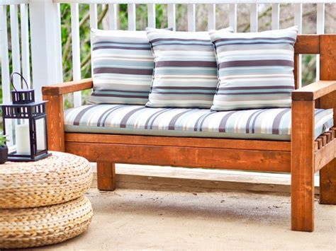 Diy Bench Loveseat
