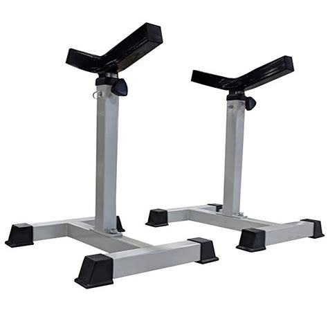 Diy Bench Press Spotter Stands