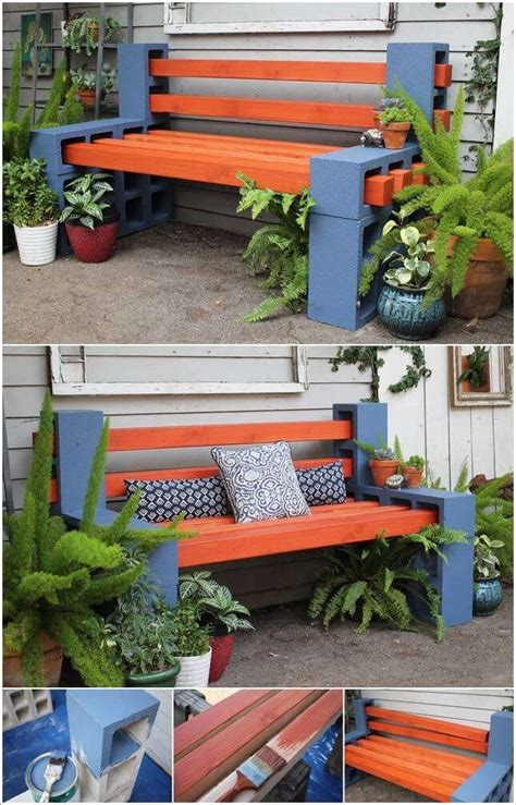 Diy Bench Projects With Bricks